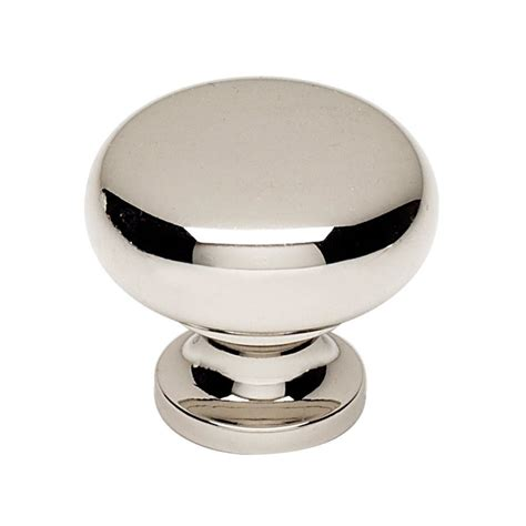 Alno Knobs by Alno Creations Shop A1134 Pn Knob Polished Nickel