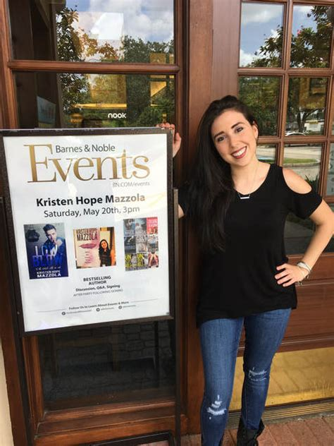 Barnes Amp Noble Feature Of Kristen Hope Mazzola Kristen