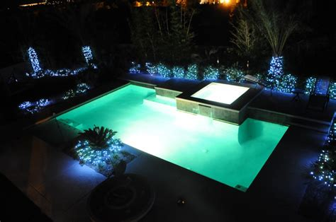 7 Ways To Enhance Poolside Decor Creative Columns String Lights Pool