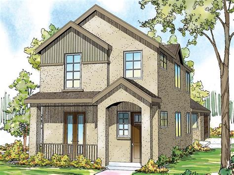 narrow lot home plans 2 story narrow lot house plan