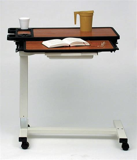 overbed table with drawer medline overbed table by oj commerce 1 854 04 2 140 04