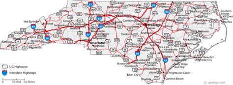 map of cities of carolina carolina crazy4cing