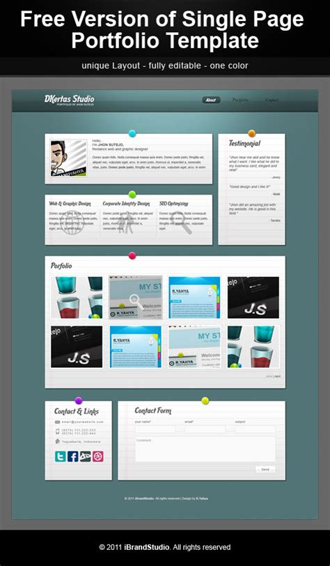 free webplus templates free photography website template