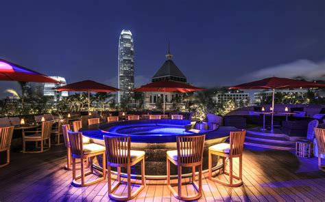 hong kong top bars best rooftop bars in hong kong for outdoor drinking with a