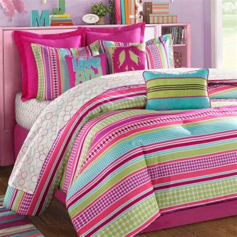 colorful comforters 10 colorful bedding ideas for girl s bedrooom rilane