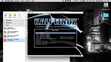 mac themes for kali linux kali linux 1 1 0 64 bit virtualbox install in mac osx 10