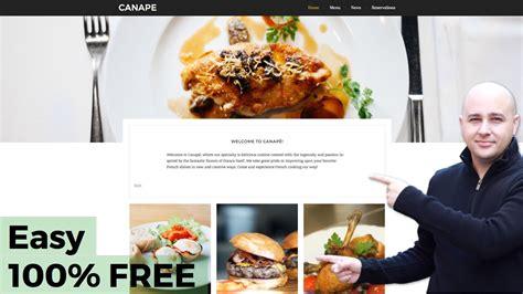wordpress restaurant tutorial how to make a restaurant website with wordpress 100 free