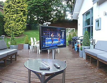 Tv Im Garten by Viewing Im Eigenen Garten Bauen