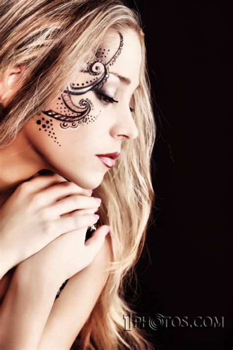 this is how you do a face tattoo tattoos pinterest