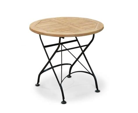 Teak Bistro Table Teak Wood Bistro Folding Table