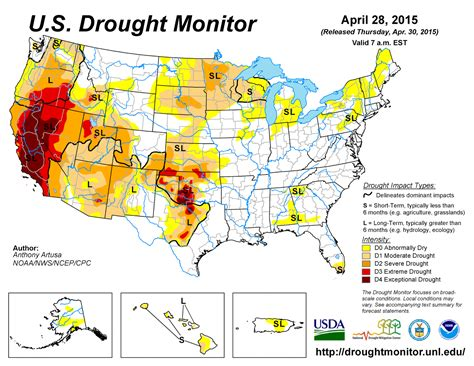us weather drought map social media drought