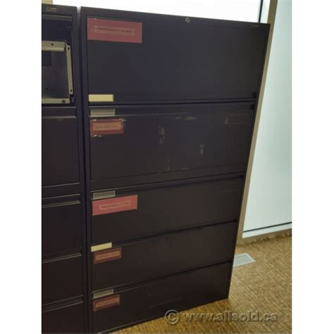 5 drawer locking lateral file cabinet global black 5 drawer lateral file cabinet locking