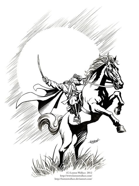 headless horseman coloring page coloring home