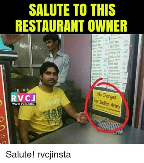 Restaurant Memes - 25 best memes about indian army indian army memes
