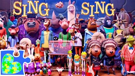kids singing auditions in 2016 in your area sing movie audition scene puzzle for kids rompecabezas de