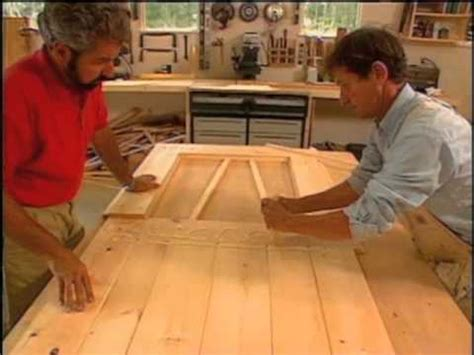 How To Make A Exterior Door How To Build A Door