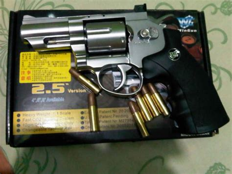 Airsoft Gun Peluru Gotri revolver 708 toko airsoft guns