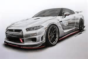 Nissan Gtr Drawing Nissan Gtr Edition R34 Concept Drawing