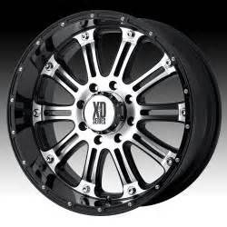 Black Truck Wheels Xd Series Kmc Xd Series Xd795 Hoss Machined W Gloss Black Custom