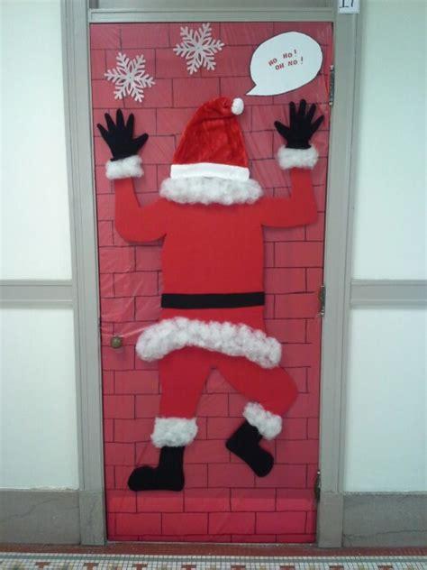 Santa Door by Door Decorating Contest Idea Santa Lara