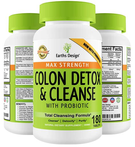 Probiotic Detox by Colon Detox Cleanse Probiotic For Optimum Weight Loss