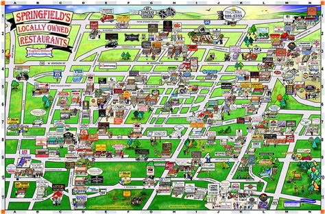 springfield il map springfield map