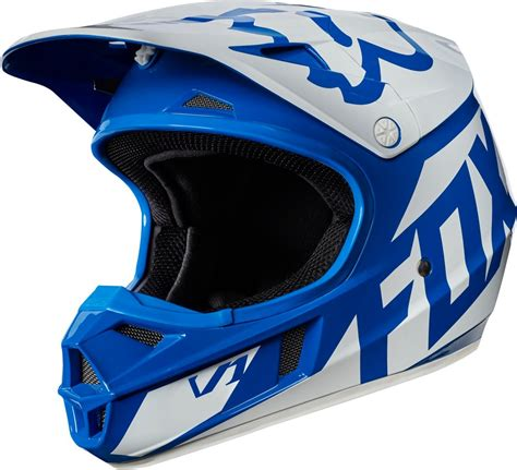 fox helmets motocross fox racing youth v1 race mx motocross helmet ebay