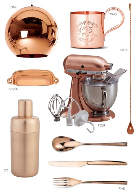 the copper kitchen trend pulp design studios