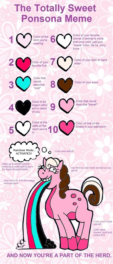 My Little Ponies Meme - my little pony meme by iconicmarshmellow on deviantart