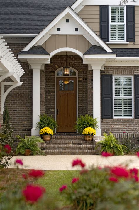 shutter colors for brick house color of tan siding