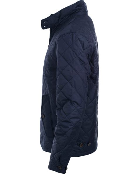 Jaspria Jas Exclusive Blue Navy polo ralph danbury quilted jacket aviator navy