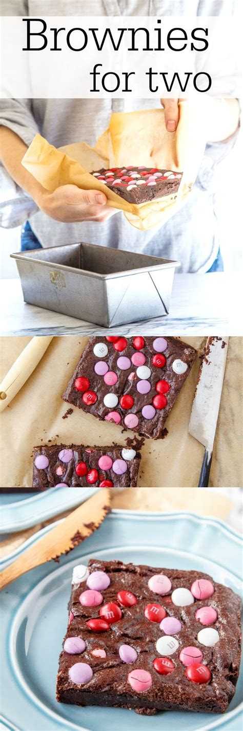 valentines desserts for two small batch brownie recipe for two a s day