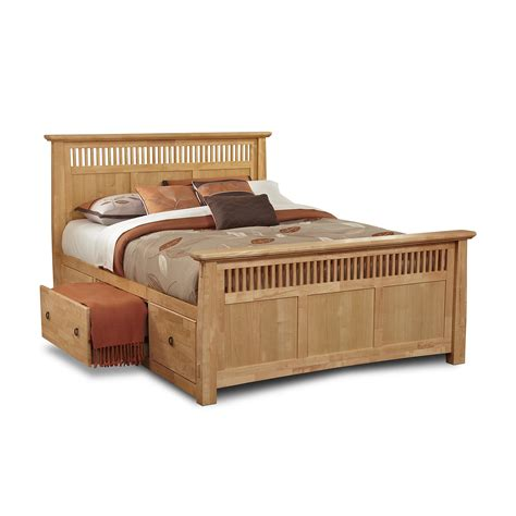 Beds Frames With Storage Joycestratton Page 4 Classic Bedroom With Warm Two Toned Brown Cherry Finish