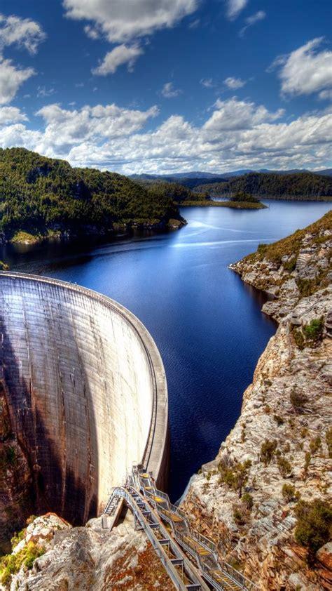 gordon dam  tasmania australia windows  spotlight