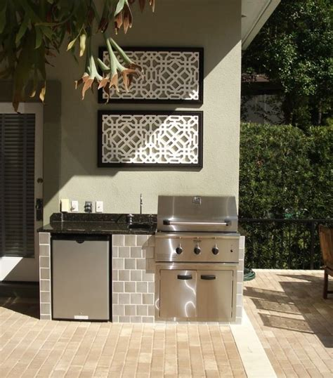 small outdoor kitchen outdoor kitchens