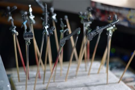acrylic paint gundam gundam kit painting guide for realistic models from