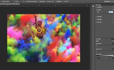 how to blur background how to blur the background for a focal point in adobe