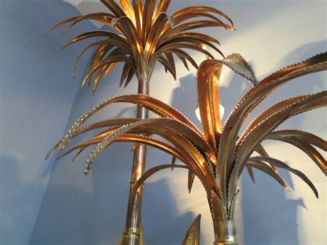 Palm Tree Floor L by Brass Palm Tree Floor L By Maison Jansen At 1stdibs