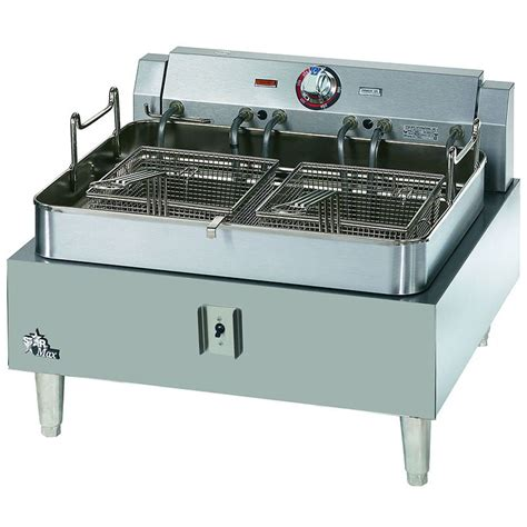 530ff countertop electric fryer 1 30 lb vat 208v