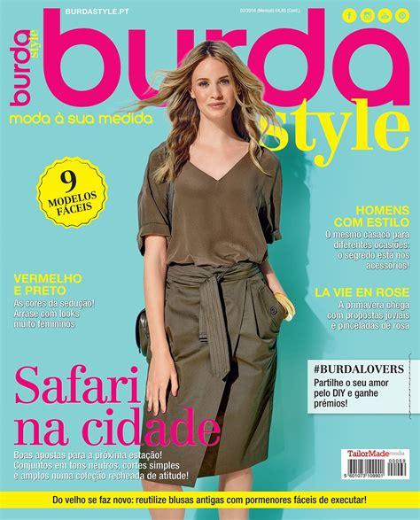 revista de chimento 2016 burda style burda style 02 2016 2016 burda style