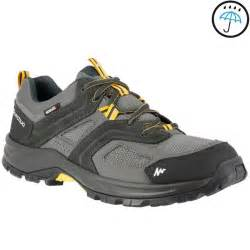 forclaz 100 s waterproof walking shoes grey decathlon