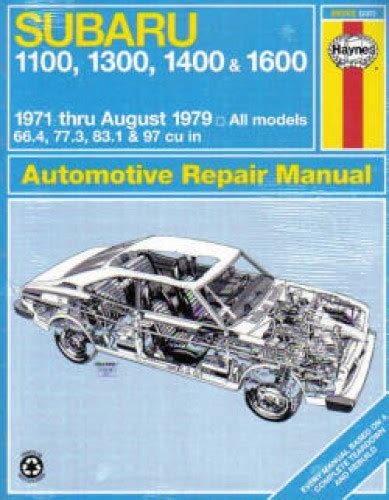 what is the best auto repair manual 1979 buick riviera regenerative braking haynes subaru 1100 1300 1400 1600 1971 1979 auto repair manual