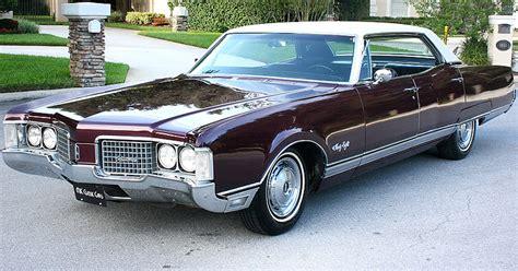 1968 oldsmobile ninety eight 4 door hardtop sedan