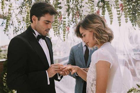 claire forlani y esposo 5 peinados ideales para una boda civil 187 oui novias