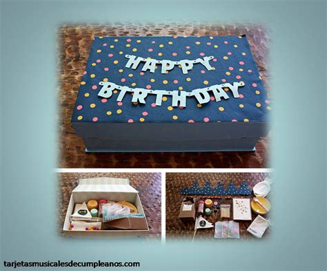 imagenes cumpleaños originales regalos originales de cumplea 241 os tarjetas musicales de