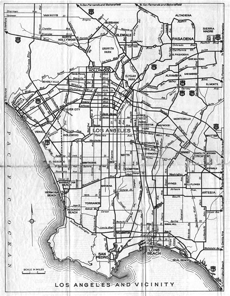 california map black and white los angeles map black and white