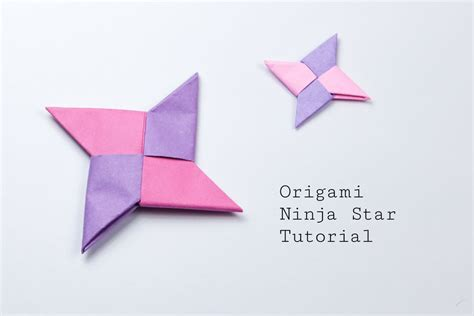 Origami 4 Point - origami tutorial