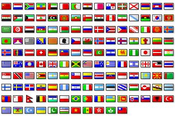 Flags Of The World How Many | feature creep and world flags i eat bugs for breakfast