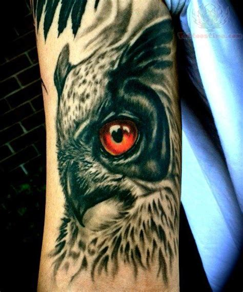 great horned owl tattoo design 17 best images about owl on arm tattoos