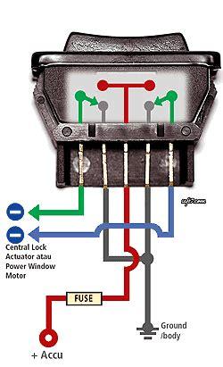 Switch Oli Avanza milenium motor limboto tips pasang switch power window